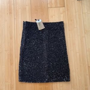 All saints sequin skirt size 8